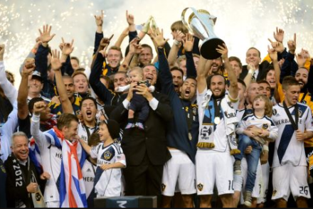 Oh, what a feeling! (photo via @LAGalaxy)