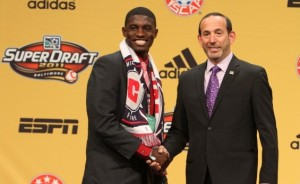"""The """"Soccer Don"""" welcomed Jalil to MLS in 2011. (photo: wvhooligan.com)"""