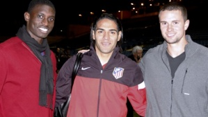 From left to right: Jalil Anibaba, Radamel Falcao, & Austin Berry (photo: mlssoccer.com)