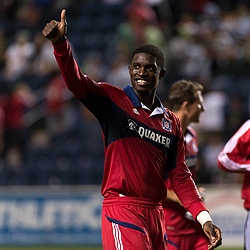 Here's to a bright future for you in Chicago Fire red kid. (photo: chicago-fire.com)