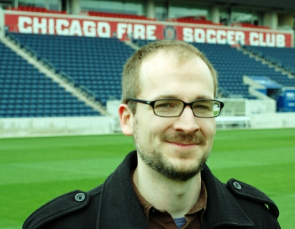 Chicago Fire's new Senior Director of Communications sat down for a chat with OTF. (photo: Scott Fenwick)