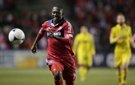 Will Patrick Nyarko return to the starting XI on Saturday night? (photo: zimbio.com)