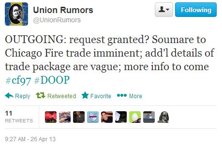 union rumors