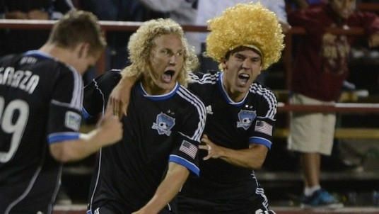2012: Hairy, heady days for the 'Quakes. (photo: mlssoccer.com)