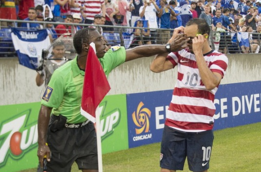 Referees wanted for Gold Cup. Those with sense of humor need not apply. (photo: sports.yahoo.com)