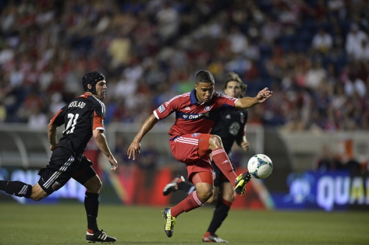 Quincy Amarikwa: All hustle. (photo: chicago-fire.com)