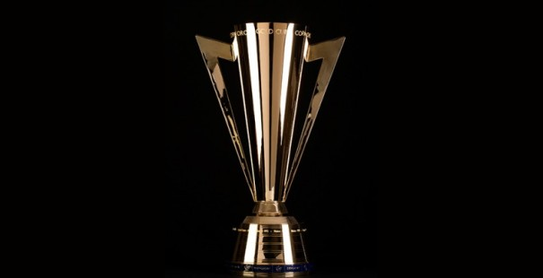 Much like the tournament itself, the new Gold Cup trophy looks a lot like the last one. (image: concacaf.com)