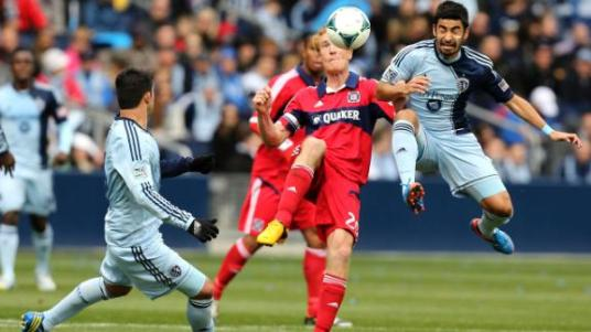 Fire hard man Jeff Larentowicz will have his hands full once again come Sunday afternoon. (photo: espn.go.com)