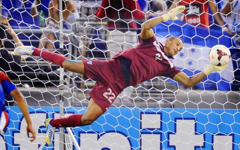 Donis Escober: second best goalie in Honduras; best in Gold Cup 2013. (photo: taipeitimes.com)