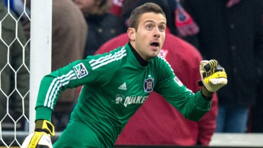 Tornaghi: Just looking isn't enough, I'm afraid. (photo: chicago-fire.com)