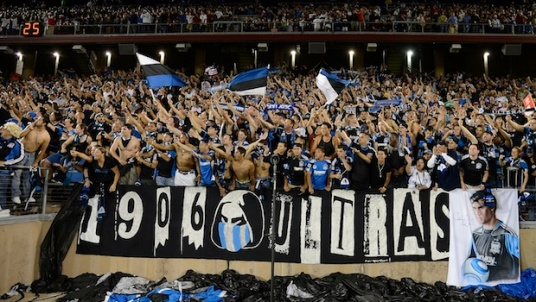 Win or lose, they're always there for the Goonies. (photo: sjearthquakes.com)