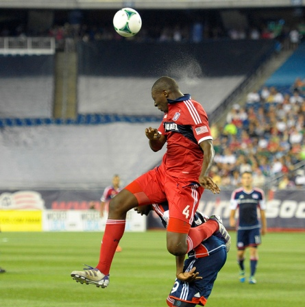Soumare went to New England and thought he was a midfielder (photo: chicago-fire.com)