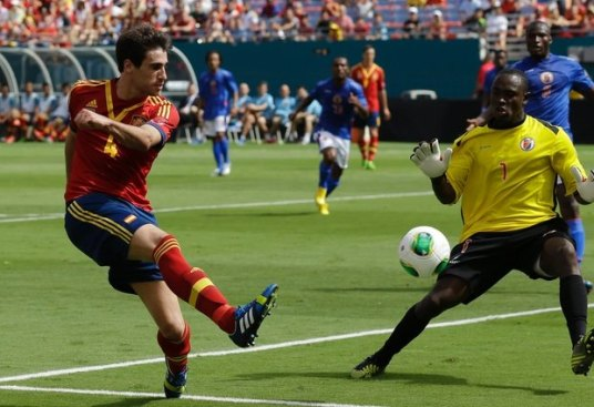 There aren't many 'keepers in CCL who have played against Spain.  (photo: mail.com)