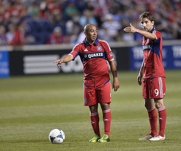 Will Cacha & Magic Mike show Fire Nation the way to the postseason? (photo: chicago-fire.com)
