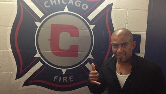 Muy fuerte (photo: @ChicagoFire)