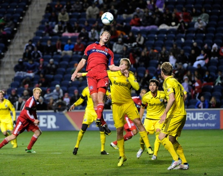 The Columbus Crew have only managed a penalty kick goal against the Fire so far in 2013
