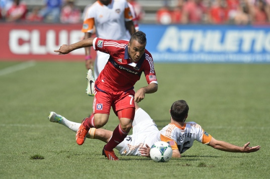 Alex starred on Sunday afternoon and continued his soild play for Chicago (photo: chicago-fire.com)