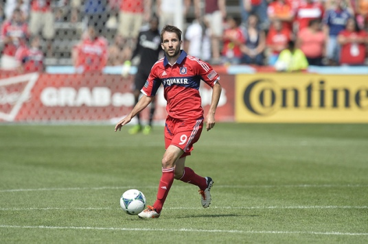 The magic's subsided a bit, so somebody needs to lend Mike a hand. (photo: chicago-fire.com)