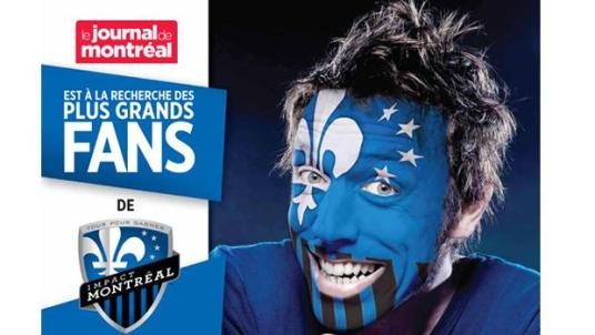 A member of French Canada's Blue Man Group? (photo: impactmontreal.com)