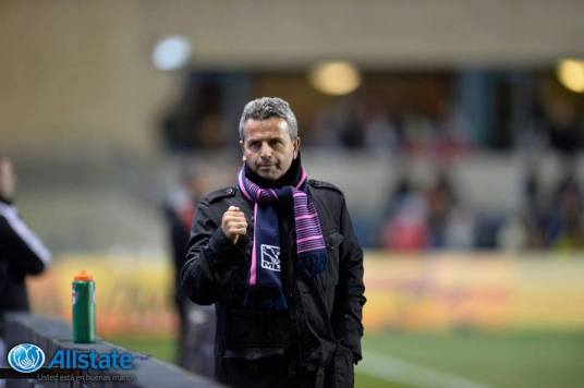 Chicago Fire Manager Frank Klopas seems to have found the key to the Playoffs. Photo from Chicago Fire Facebook page