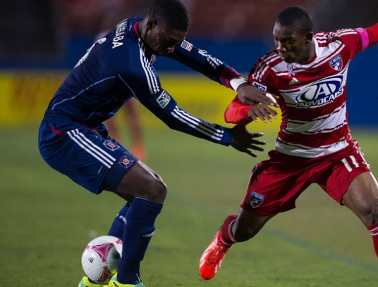 Young Jalil Anibaba and the Chicago Fire are in the midst of a delicate balancing act (photo: youtube.com)