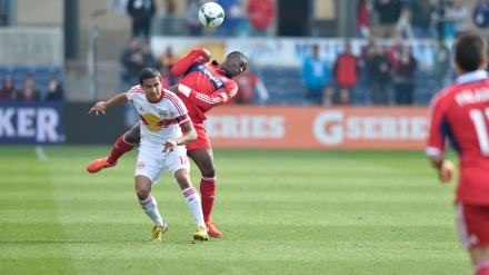 No energy drinks needed, there will be plenty of intensity to go around on Sunday (photo: Brian Kersey/chicago-fire.com)