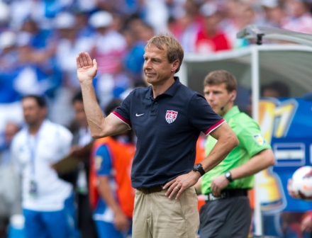 Klinsi responds to Bruce Arena's latest comments on World Cup qualifying. (photo: soccerbyives.net)