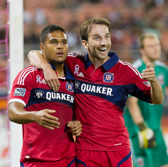 See, Frank. I told you this kid's alright! (photo: chicago-fire.com)