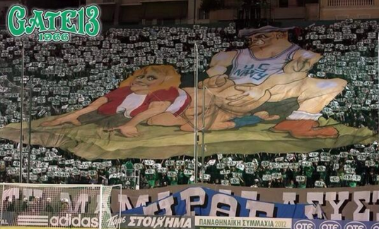 panathinaikos us navy sex tifo