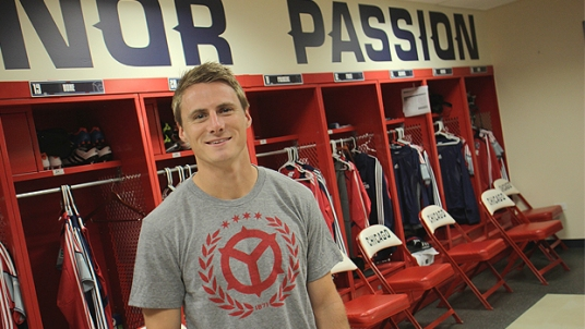 This guy may or may not be standing in this room next year. Who are the others? (photo: chicago-fire.com)
