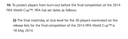 image: fifa.com, from Regulations of the 2014 FIFA World Cup