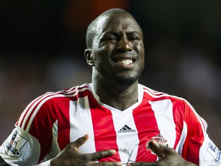 Not satisfied with taking his goalscoring ability, Sunderland has also diminished Jozy's ability to smile. (photo: football365.com)