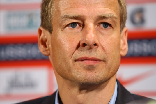 Doesn't really matter what you choose to do, Klinsi -- Bruce Arena will moan about it anyway. (photo: ghanafans.com)