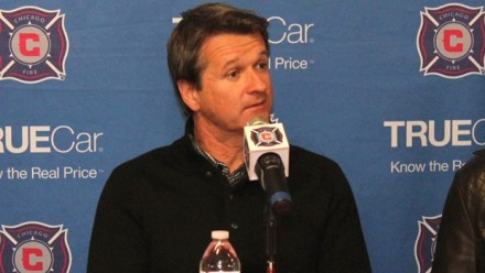 Chicago's new soccer boss added five defenders this week in his quest to strengthen the club's weakness. (photo: chicago-fire.com)