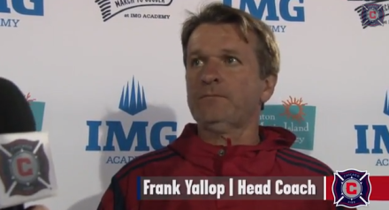 With three preseason matched in the books, it's time for Frank Yallop to thin his roster. (image: chicago-fire.com)