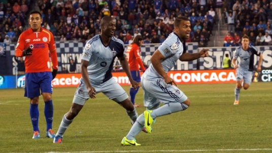 Men of the Match: Ike Opara and Kevin Ellis (Photo: mlssoccer.com)