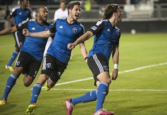 Preseason form? Nope. That is some midseason celebration synchronization, right there.(Photo: soccer.si.com)
