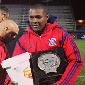 JLA MVP (photo: instagram.com/chicagofire)