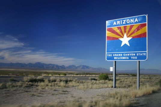 Save your welcome for when we say thank you, Arizona. (Photo: azkicksit.com)