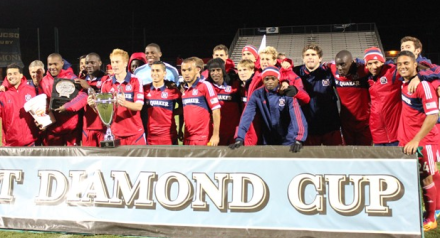 Last night marked successive preseason trophies for the Men in Red (photo: chicago-fire.com)