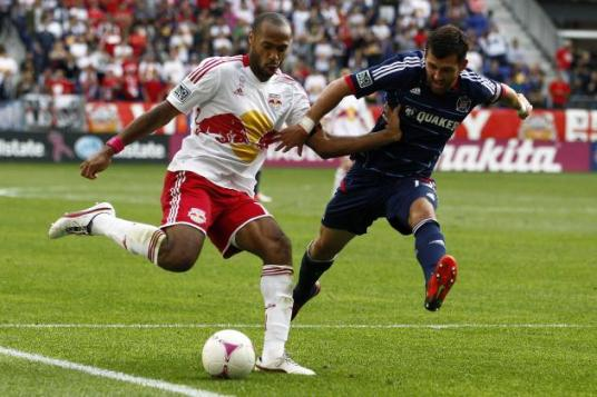 Thierry Henry and friends come to Toyota Park for the Fire's third straight Sunday tilt.