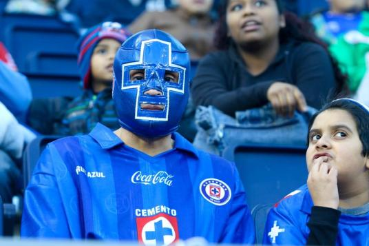 Not to pile on, but even Cruz Azul's fans made better use of the ball than SKC. (Photo: kansascity.com)