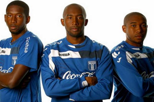 Obligatory reference to the fact Jerry (the man in the middle), Johnny and Wilson Palacios were picked for Honduras's 2010 World Cup squad. (Photo: tattoos.fanshare.com)