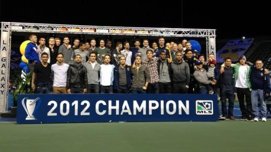 The team that got LA into CCL 2013-14 (Photo: lagalaxy.com)