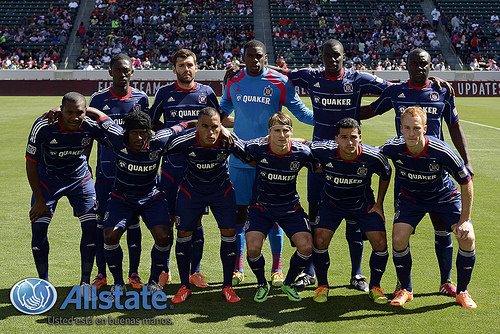 Chicago Fire's Starting XI for Opening Day 2014