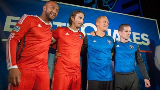 The Quakes' plan to disguise themselves as Toluca didn't quite work out. (Photo: mlssoccer.com)