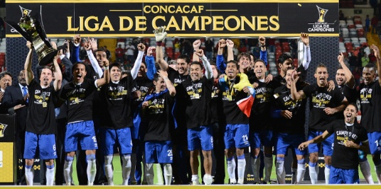 Just in case you forgot who won it all this year. (Photo: concacaf.com)