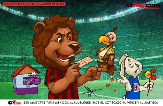 Las Aguilas were battered in Azteca. What can Los Leones do to Toluca? (Image: crhoy.com)