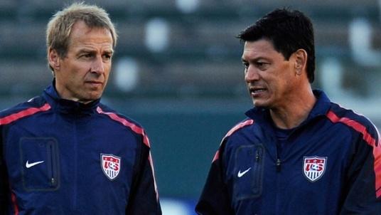 Cold, Klinsi, very cold. (Photo: soccerlens.com)