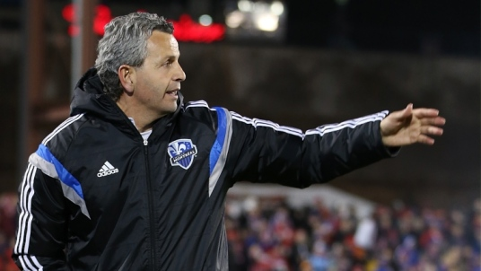 Saturday's match is very much about what Frank Klopas is capable of...